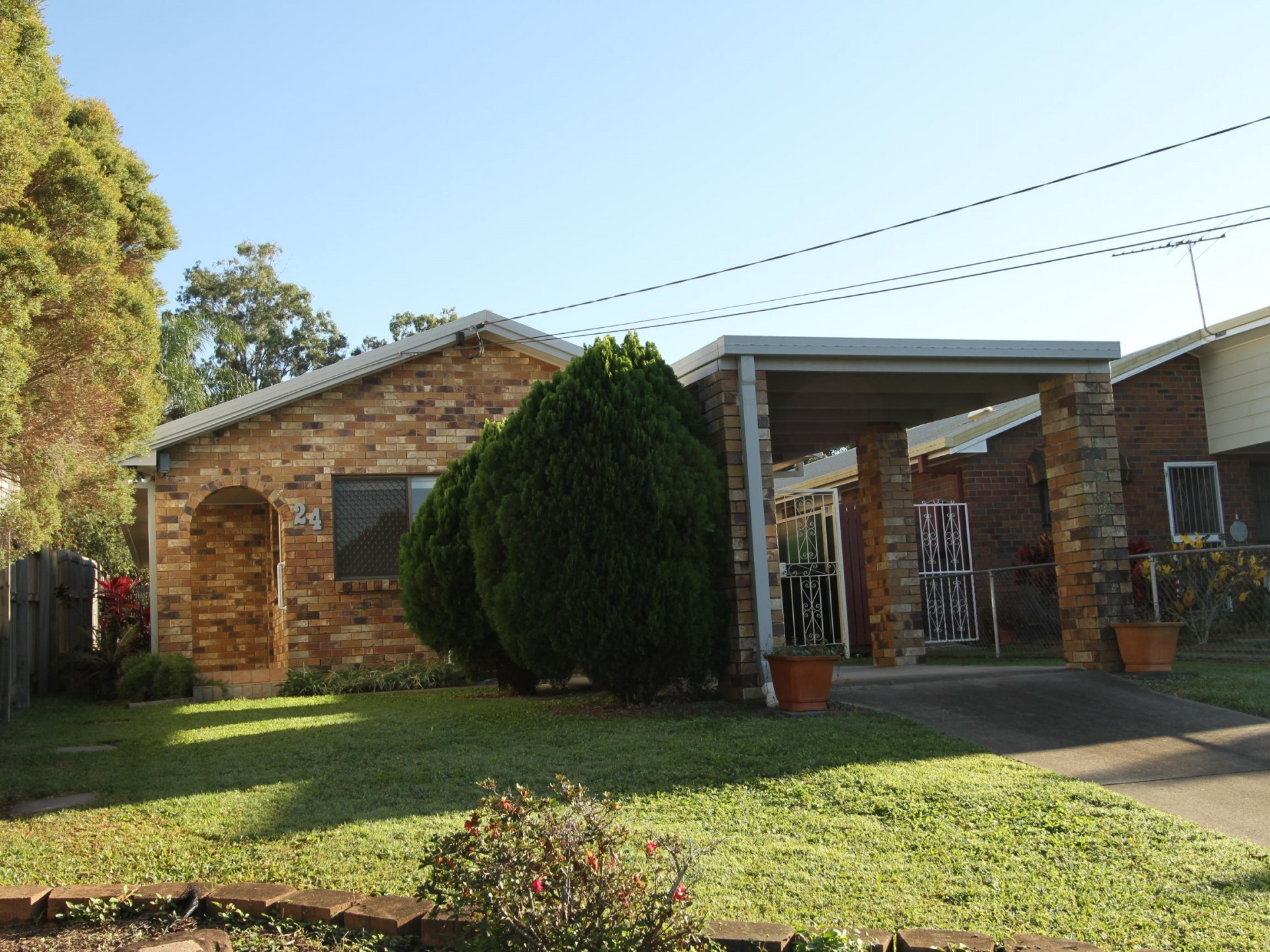 Solid brick home ready to move into